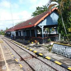 Photo taken at Stasiun Wlingi by Hedwig G. on 12/5/2014