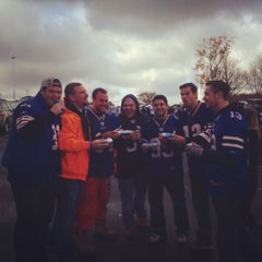 Photo taken at Lot 5 Ralph Wilson Stadium by Nicholas T. on 10/21/2012