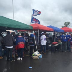 Photo taken at Lot 5 Ralph Wilson Stadium by Nicholas T. on 9/13/2015