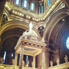 Photo taken at Basilica of Saint Mary by Lindsi G. on 6/9/2013