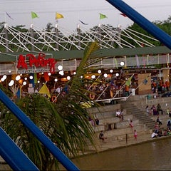 Photo taken at Ah Poong (Pasar Apung Sentul City) by wuri s. on 3/31/2013