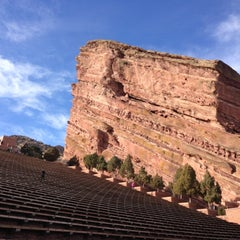 Photo taken at Red Rocks Park & Amphitheatre by Ali F. on 12/1/2012