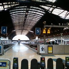 Photo taken at London Paddington Railway Station (PAD) by Jochim K. on 5/28/2013