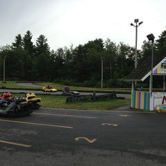 Photo taken at Weirs Go Karts & Bumper Boats by Kitty S. on 7/26/2013
