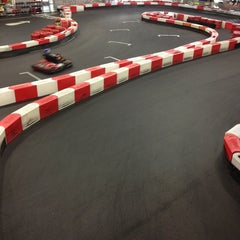 Photo taken at K1 Speed Anaheim by Kien P. on 1/19/2013
