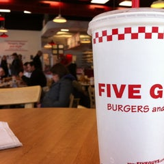 Photo taken at Five Guys by Jeff @ m. on 12/7/2012