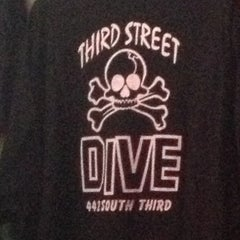 Photo taken at Third Street Dive by Robin S. on 5/22/2013