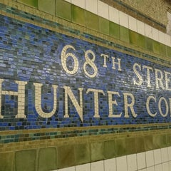 Photo taken at MTA Subway - 68th St/Hunter College (6) by NOZOMI on 12/23/2015