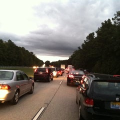 Photo taken at I-64 Exit 255: Jefferson Ave by Jason L. on 9/28/2013