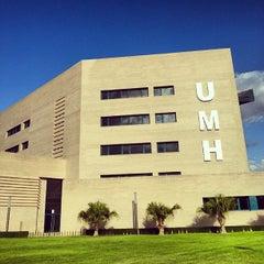 Photo taken at UMH Rectorado by Jose Antonio L. on 10/5/2013