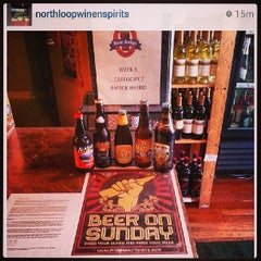 Photo taken at North Loop Wine & Spirits by MN Beer Activists on 8/6/2013