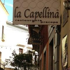 Photo taken at La Capellina by Diana L. on 12/30/2012