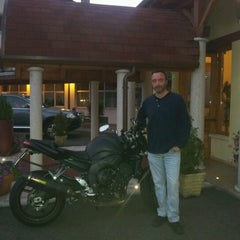 Photo taken at Hotel Salvadori by Achille F. on 9/15/2012