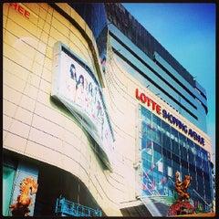 Photo taken at Lotte Shopping Avenue by Ranggie P. on 6/23/2013