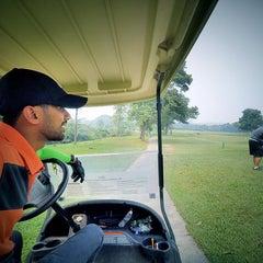 Photo taken at Danau Golf Club by Abdul Haziq A. on 9/1/2015