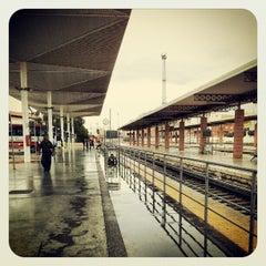 Photo taken at Estación Intermodal de Almería by José María S. on 9/29/2012