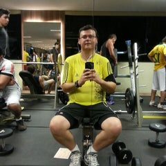 Photo taken at Fit Club Academia by Roberto D. on 4/2/2013