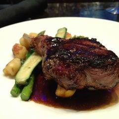 Photo taken at Azure Restaurant & Bar by David F. on 2/22/2013