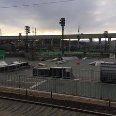 Photo taken at 東金沢駅 (Higashi-Kanazawa Sta.) by Salvage M. on 2/3/2016