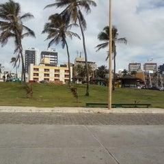 Photo taken at Estacionamento Jardim de Alah by Daniel d. on 12/24/2013