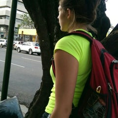 Photo taken at Paseo Colón by Mónica C. on 3/1/2016