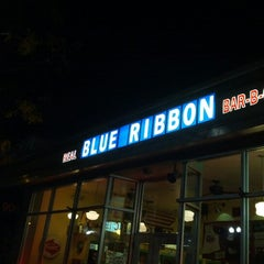 Photo taken at Blue Ribbon BBQ by Steve S. on 10/14/2012