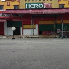 Photo taken at Pasaraya HERO (Hypermarket) by noor s. on 9/6/2013
