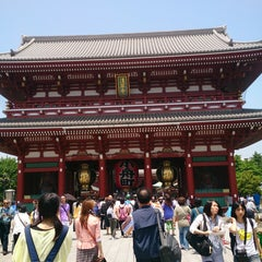 Photo taken at 浅草寺 (Sensō-ji Temple) by Yuko on 5/22/2013
