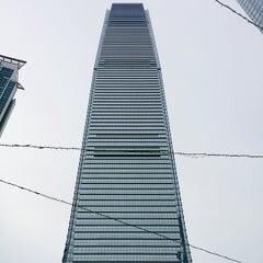 Photo taken at Civic Square 演薈廣場 by Gloria F. on 7/9/2014