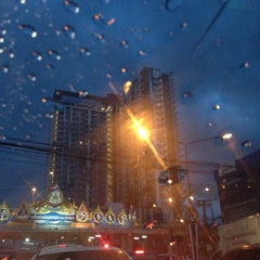 Photo taken at แยกแคราย (Khae Rai Intersection) by Fah N. on 7/15/2015