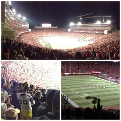 Photo taken at Memorial Stadium by Albert T. on 10/28/2012