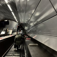 Photo taken at Haymarket Metro Station by Toby H. on 5/29/2015