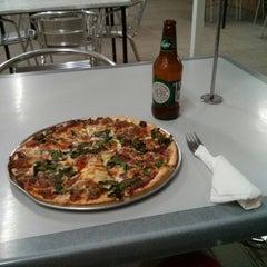 Photo taken at John's Pizza Bar & Restaurant by Aram D. on 5/6/2013