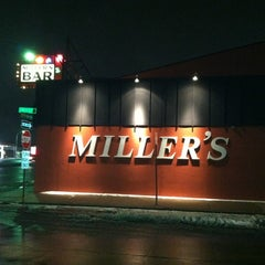 Photo taken at Miller's Bar by Bret T. on 2/23/2013