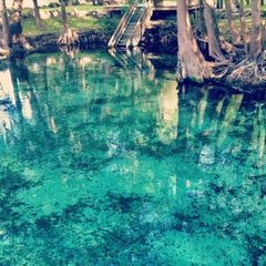 Photo taken at Ginnie Springs by Muhammad Z. on 3/22/2013