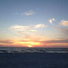 Photo taken at Pass-a-Grille Beach by Clare L. on 4/6/2013