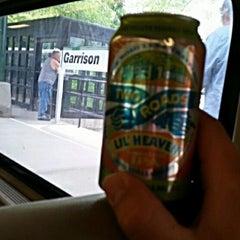 Photo taken at Metro North - Garrison Train Station by Seaside T. on 7/19/2014