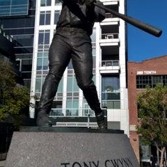 Photo taken at Tony Gwynn Statue by John P. on 5/11/2015