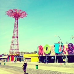 Photo taken at Coney Island Beach & Boardwalk by mido on 6/24/2013