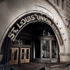 Photo taken at St. Louis Union Station by Lindsey M. on 4/7/2013