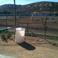 Photo taken at Barona Speedway & Dragstrip by Chuck R. on 7/23/2011