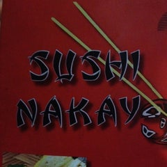 Photo taken at Sushi Nakay by Rafael F. on 4/8/2012