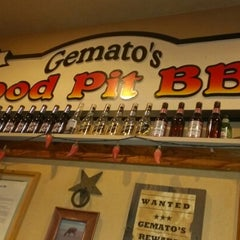 Photo taken at Gemato's Wood Pit BBQ by TeA j. on 2/12/2013
