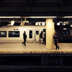 Photo taken at 新宿駅 (Shinjuku Sta.) by 梅薫庵 on 10/29/2013