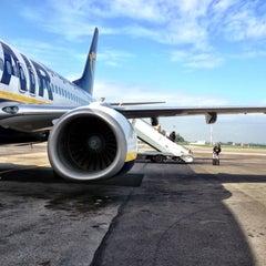 """Photo taken at Aeroporto di Roma Ciampino """"Giovan Battista Pastine"""" (CIA) by Кирилл Ш. on 11/17/2012"""
