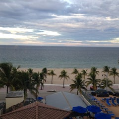 Photo taken at Courtyard by Marriott Fort Lauderdale Beach by Molly K. on 8/30/2013