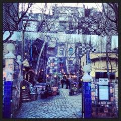 Photo taken at KUNST HAUS WIEN. Museum Hundertwasser by Ibrahim E. on 2/3/2013