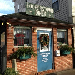Photo taken at Cooperstown Diner by debz on 1/13/2013