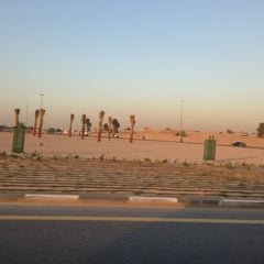 Photo taken at Al Warqa Roundabout by Yas ™. on 12/11/2012