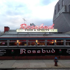 Photo taken at Rosebud Diner by paddy M. on 5/4/2013